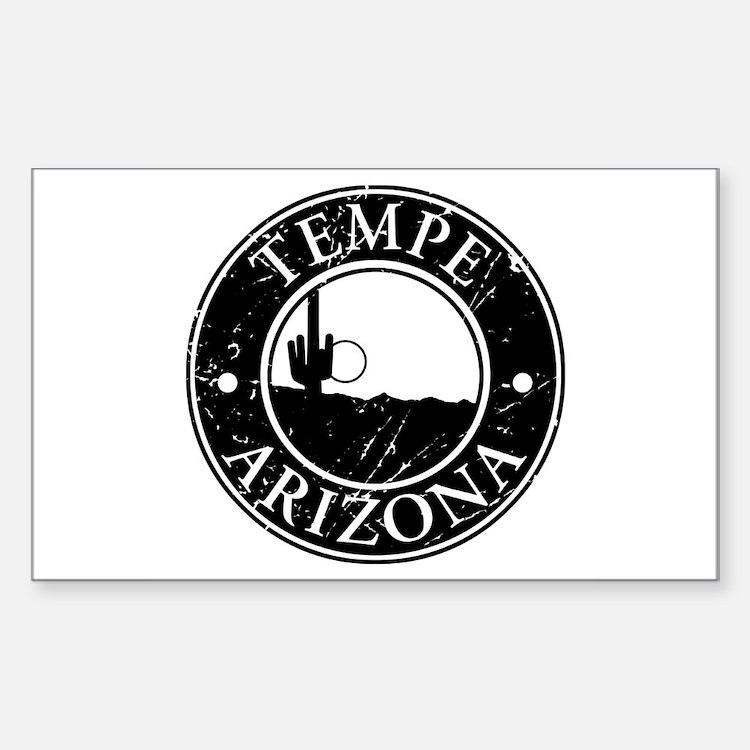 Tempe, AZ Rectangle Decal