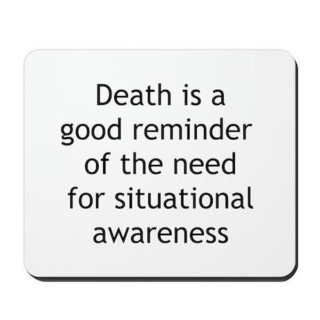 Situational Awareness Mousepad