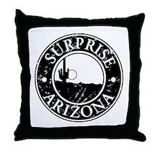 Surprise, AZ Throw Pillow