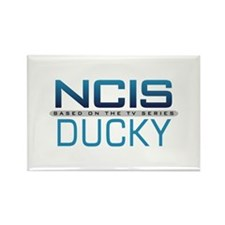 NCIS Logo Ducky Rectangle Magnet