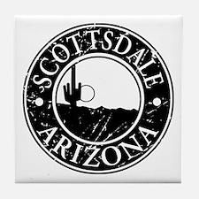 Scottsdale, AZ Tile Coaster