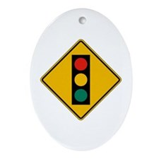 Signal Ahead - USA Oval Ornament