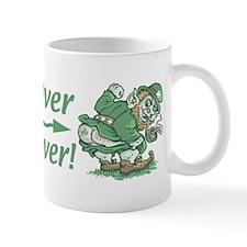 Kiss Me Clover Leprechaun Mug