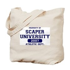 Scaper U Athletics Tote Bag