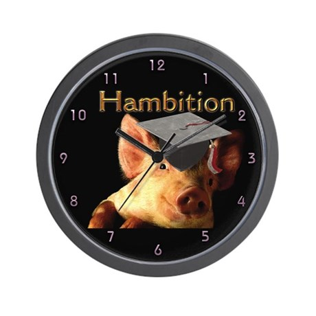 Hambition Wall Clock