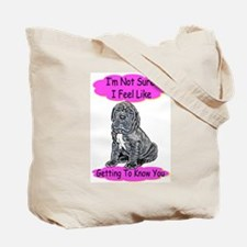 """I Don't Even Know You Anymore"" Tote Bag"