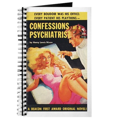 "Pulp Journal - ""Confess. Of A Psychiatrist"""