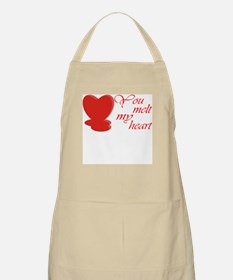 You Melt My Heart BBQ Apron