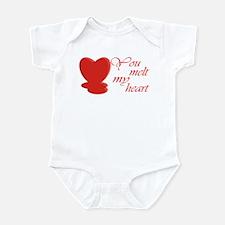You Melt My Heart Infant Bodysuit