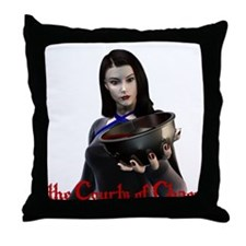 Cute Roleplaying Throw Pillow