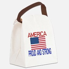 Current events Canvas Lunch Bag