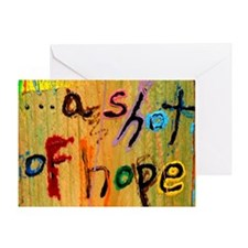 a shot of hope Greeting Card