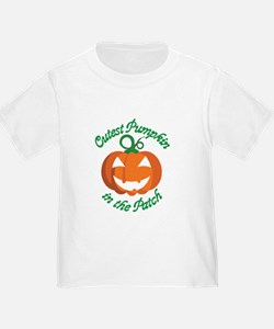 Cutest Pumpkin in the Patch - Halloween Baby T-Shi