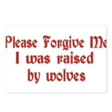 Raised by Wolves Postcards (Package of 8)