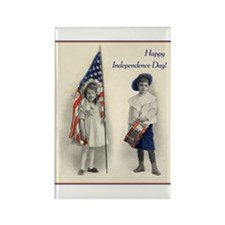 Independence Day Rectangle Magnet