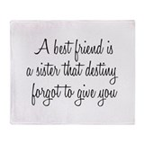 Best friend Fleece Blankets