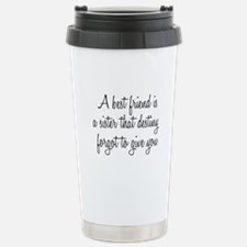 Best Friend Stainless Steel Travel Mug
