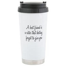 Best Friend Travel Mug
