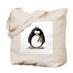 Autism Penguin Tote Bag