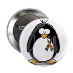 Autism Penguin Button