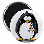 Autism Penguin Magnet