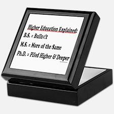 Higher Education Keepsake Box