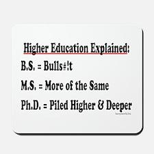 Higher Education Mousepad