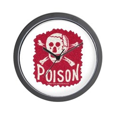 POISON! Wall Clock