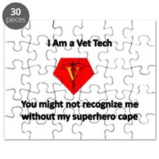vet tech superhero Puzzle