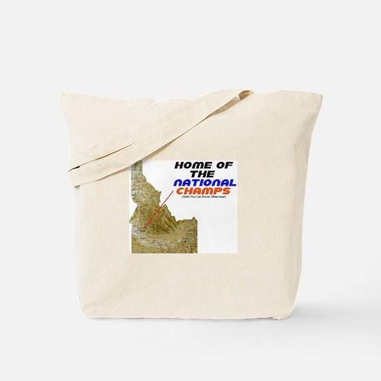 National Champ Tote Bag