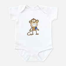 Blue Ribbon Monkey Infant Bodysuit