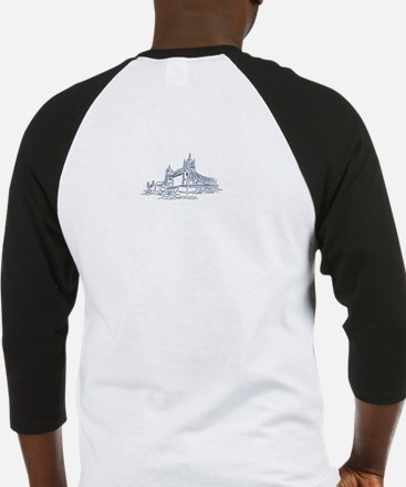 England: Tower Bridge Baseball Jersey