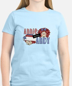 Annie Loves Andy T-Shirt