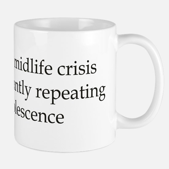 Repeating Adolescence Mug