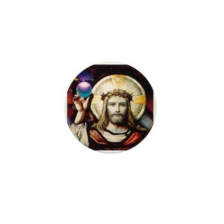 NEW Cosmic Christ Mini Button