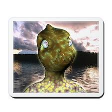dinosaur alien Mousepad