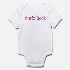 Curlz Rock Infant Bodysuit