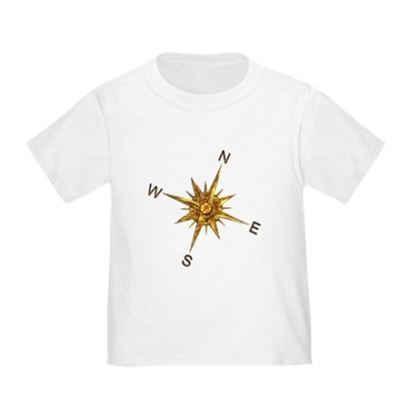 Gold Compass Points T-Shirt
