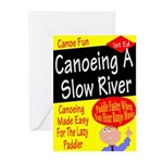 Canoe A Slow River Cover Greeting Cards (Package o