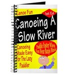 Canoe A Slow River Cover Journal