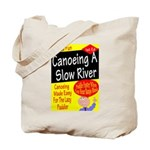 Canoe A Slow River Cover Tote Bag