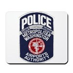 Dulles Airport Police Mousepad