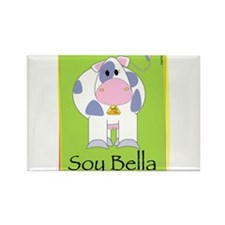Soy Bella Rectangle Magnet