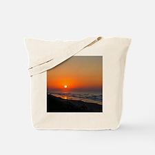 Topsail Island North Carolina Beach Sunset Tote Ba