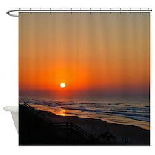 Topsail Island North Carolina Beach Sunset Shower
