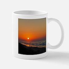 Topsail Island North Carolina Beach Sunset Mugs