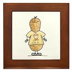 Monkey Nut Framed Tile