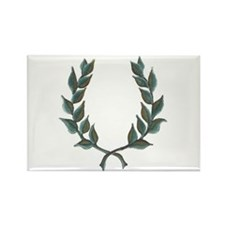 Cute Roman laurel wreath Rectangle Magnet