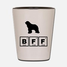 Bergamasco Sheepdog Shot Glass
