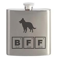 Belgian Groenendael Flask